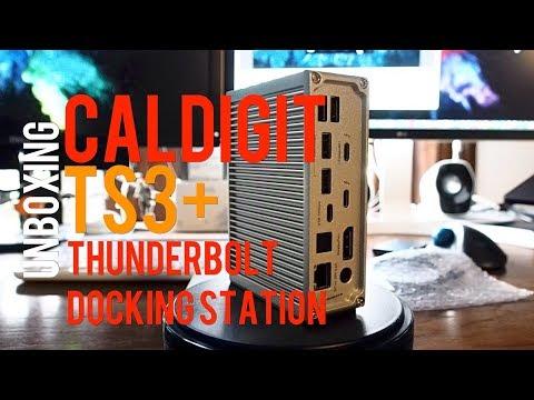 caldigit-ts3+-thunderbolt-3-docking-station-unboxing-short-review