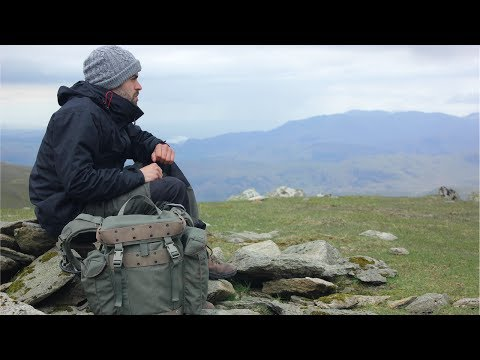 4 Day Solo Wild Camping Adventure in the Mountains