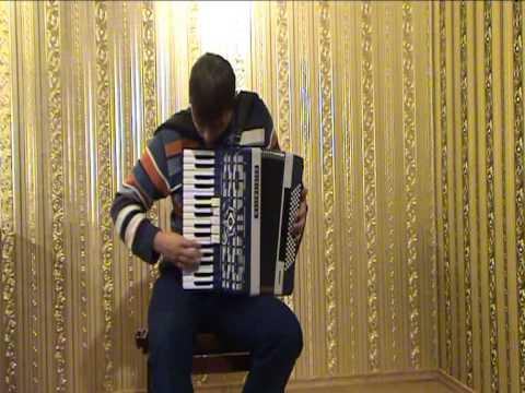 France Music - la vie en rose (accordion cover) beautiful accordion melodies