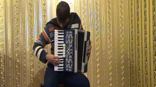 France Music - la vie en rose (accordion cover) beautiful accordion melodies