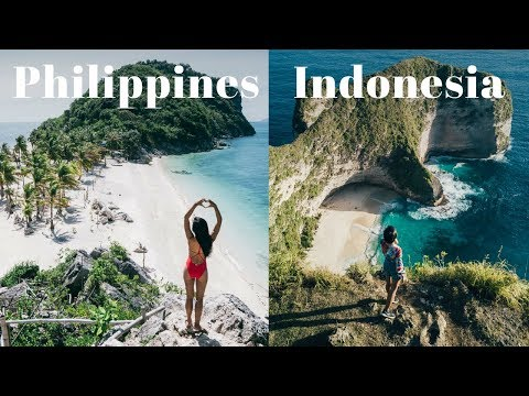 PHILIPPINES OR INDONESIA? Which is the BEST TRAVEL Destination?