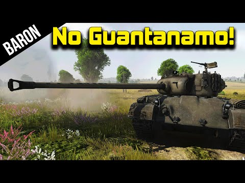 War Thunder - No Guantanamo Bay for Me!  Pershing Punishment