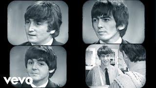 The Beatles - Words Of Love(Music video by The Beatles performing