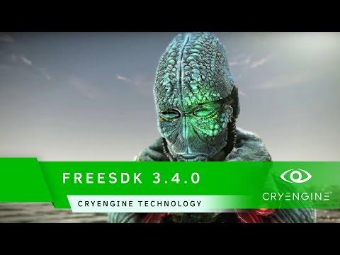 FREESDK 3.4.0 Trailer   CRYENGINE Technology