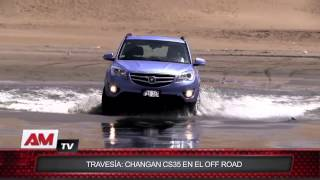 Travesía: Changan CS35 en el off road
