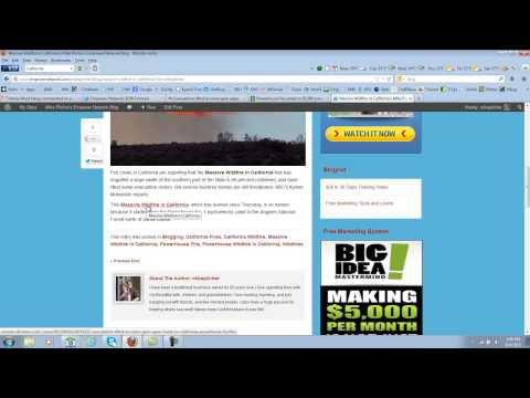 Empower Network - How To Make A Blog Post - Capture Pages