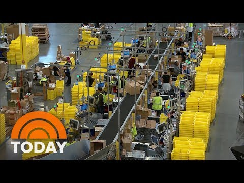 Amazon To Host First Job Fair, Looking To Fill 50,000 US Positions | TODAY