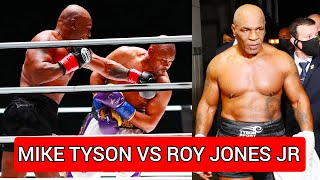 Mike Tyson vs Roy Jones Jr (réaction)