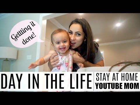 DAY IN TH LIFE OF A STAY AT HOME MOM | Making it happen | YOUTUBE MOM VLOG