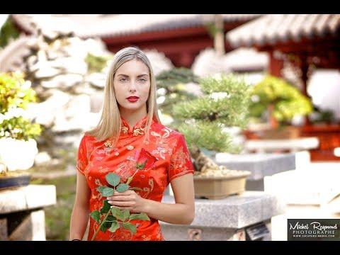 Au jardin de chine de Montréal avec Annie-Pier Hébert