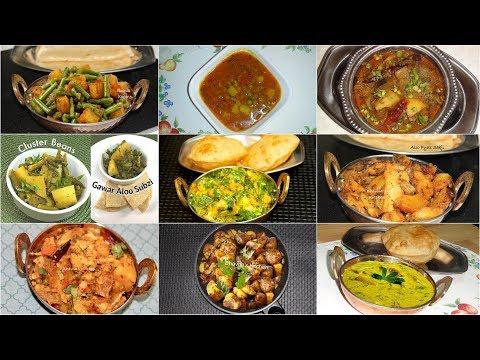 10 Amazing Aloo or Bateta (Potato)  Sabzis  and Curries of All Time | Potato Recipes Indian