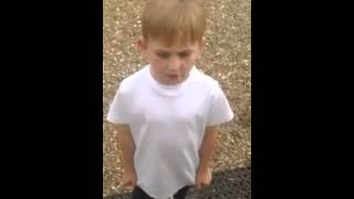 Kid sings the Rubberbandits