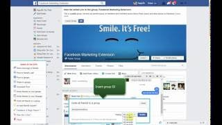Facebook Marketing For Chrome  -  How to invite all friends to your group