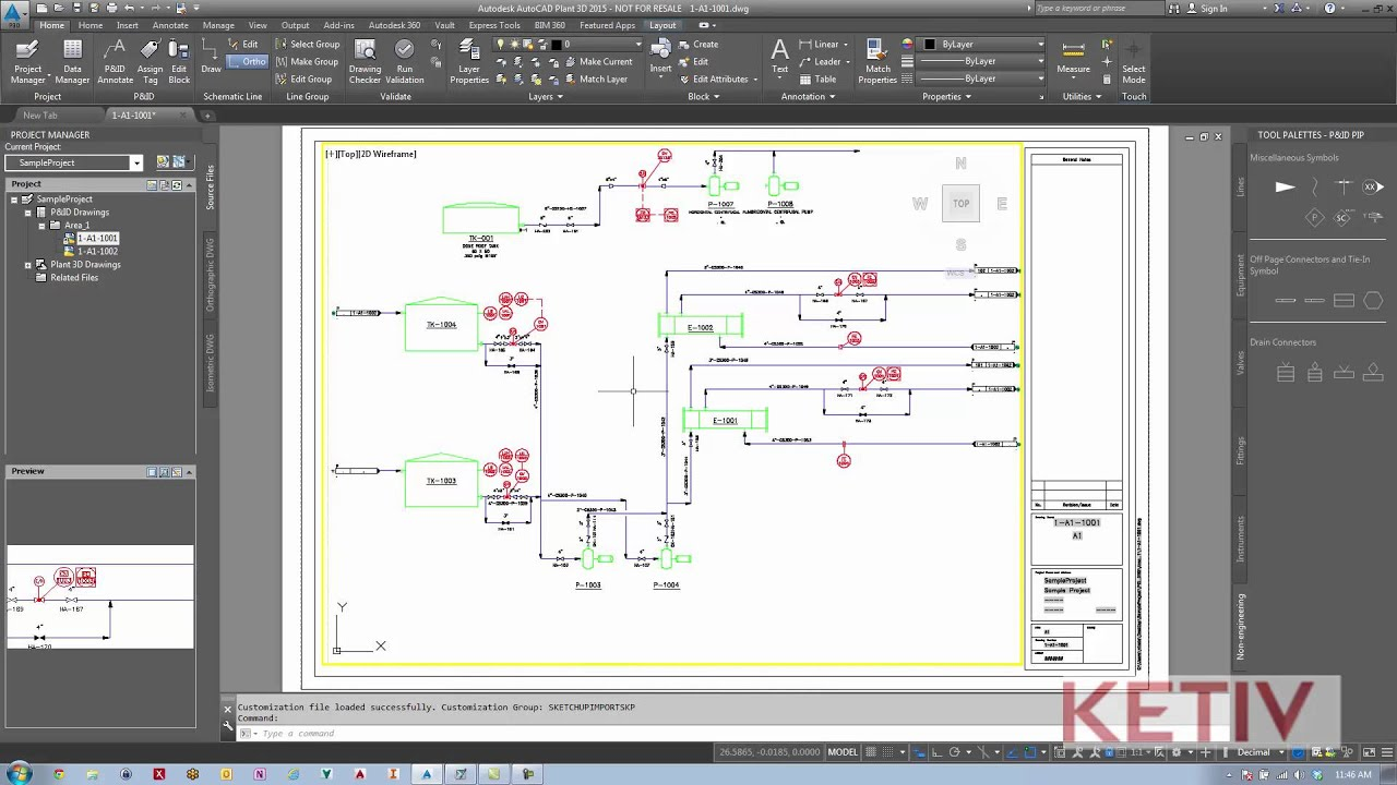How To Add Autocad Draw Tools To A Autocad P Id Workspace