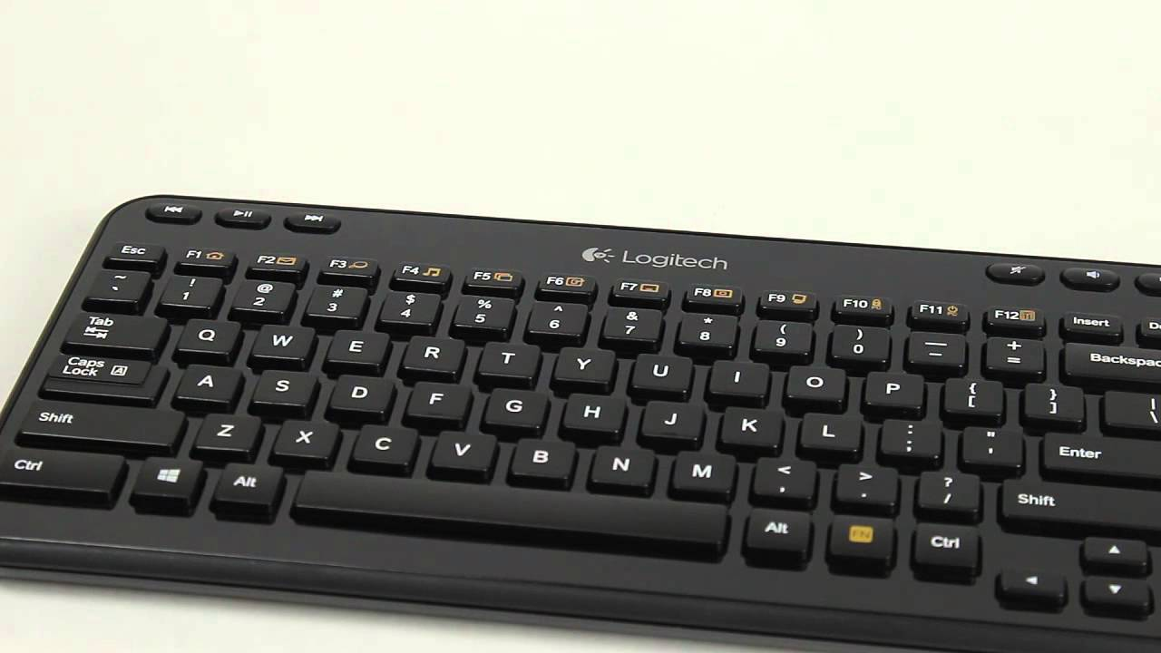 Logitech K360 Wireless Keyboard - is it worth it? - YouTube