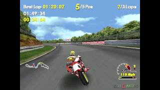 Moto Racer World Tour - Gameplay PSX (PS One) HD 720P (Playstation classics)