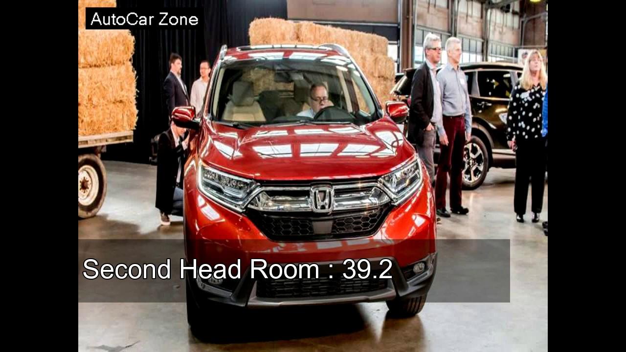 New Honda CRV 2017 - Interior Dimensions