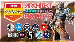 Architect Pop-Up 🥊Squad Customs🥊 Game 7 (Fortnite)