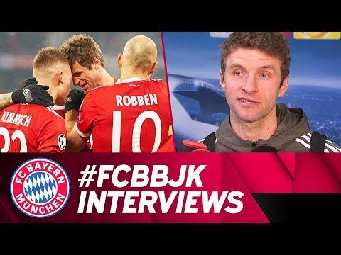 Nach Besiktas-Heimsieg: Müller und Lewandowski im Interview