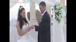 WEDDING CITY ANTALYA - ELENA WILLIAM WEDDING IN APOLLON TEMPLE