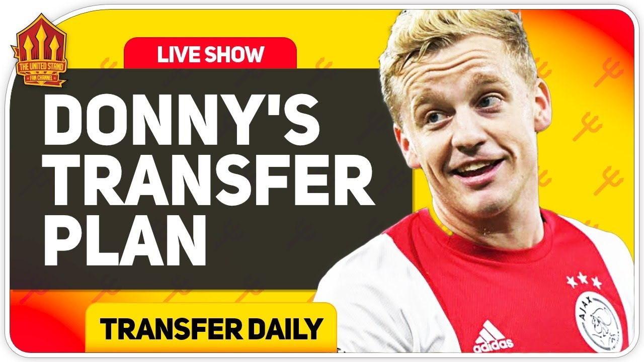 Van De Beek Talks Transfer Move! Man Utd Transfer News