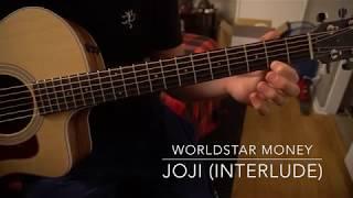 Worldstar money (interlude) // Easy Guitar Lesson (W/Tabs!) // Joji