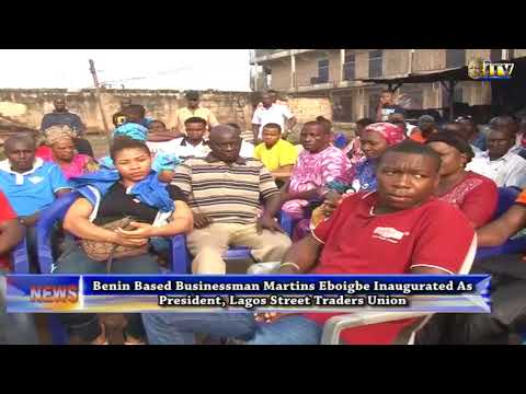 Lagos Street Traders Union gets new president
