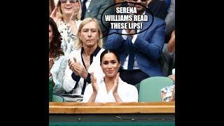 """Martina Navratilova at Serena Williams """"Now tell us what you really think?"""""""