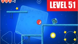 red Ball 4 level 51 Walkthrough / Playthrough video
