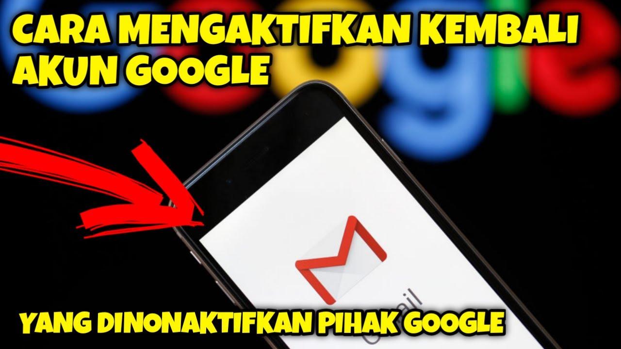 31+ Cara Mengaktifkan Akun Gmail Yang Dinonaktifkan mudah