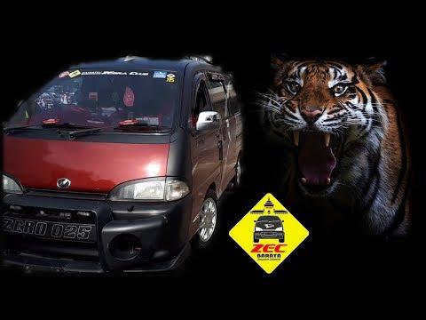 Ngeri!! Mobil Espass Suara Harimau, Mending Tutup Telinga    ZEC on BALAD 2018