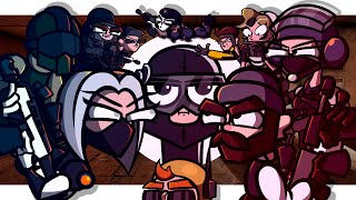 SIEGE TALES - ALL EPISODES vol.4 (Rainbow Six Siege Cartoon)