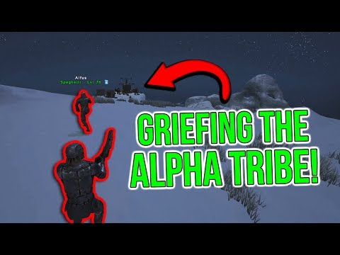 GRIEFING OUR BIGGEST RIVALS!   ARK Small Tribes Official PvP - ARK Survival Evolved