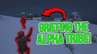 GRIEFING OUR BIGGEST RIVALS! | ARK Small Tribes Official PvP - ARK Survival Evolved