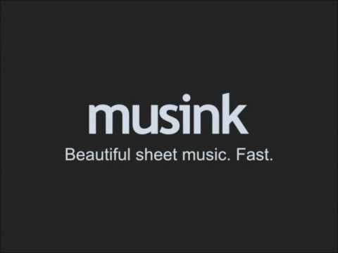 Musink Overview (Free Notation Editor Software)