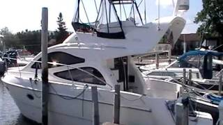 2002 GENESIS DEL PARTA 39' FLYBRIDGE CRUISER $139K  500HP DIESEL TWIN MOTORS .MOD