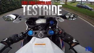 CBR 1000 RR FIREBLADE TESTRIDE (bukan review)