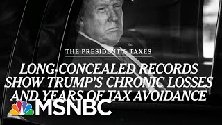 Trump Avoided Taxes For Years, Paid $750 In 2016: Report | Morning Joe | MSNBC