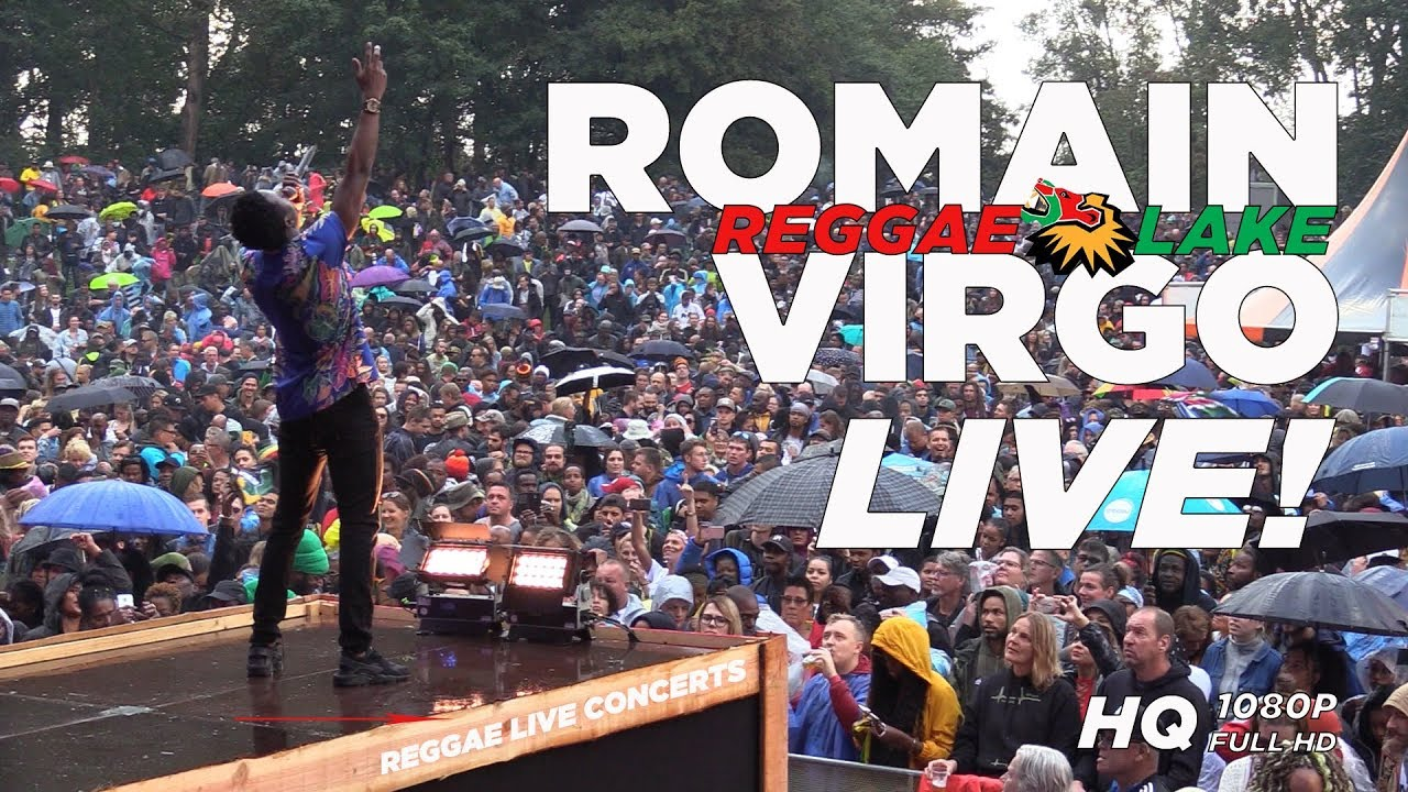 Romain Virgo Live At Reggae Lake Festival Amsterdam 2018