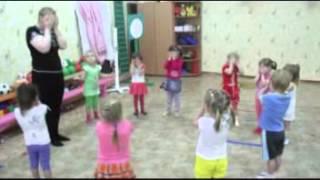 Открытое занятие по хореографии младшая группа Томск Д   сад 43