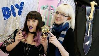 DIY I Harry Potter Zauberstabholster mit Princess of Pizza