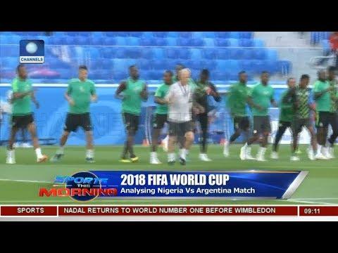 Analysing Nigeria Vs Argentina Match Pt.2  Sports This Morning 