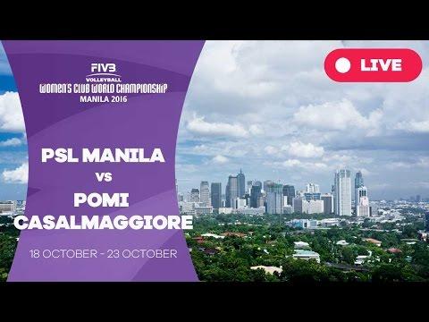 PSL Manila v Pomi Casalmaggiore - Women's Club World Championship