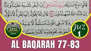 Download Metode Ummi Juz 1 - Belajar Membaca Al Quran | Surat Al Baqarah Ayat 77-83 :: TADARUS ALQURAN MERDU
