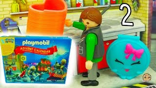 Playmobil Holiday Christmas Advent Calendar - Toy Surprise Blind Bags  Day 2