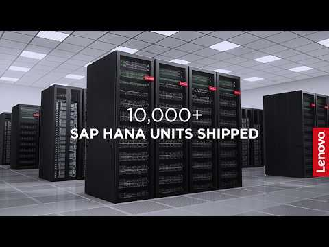 Lenovo ThinkAgile HX solution for SAP HANA