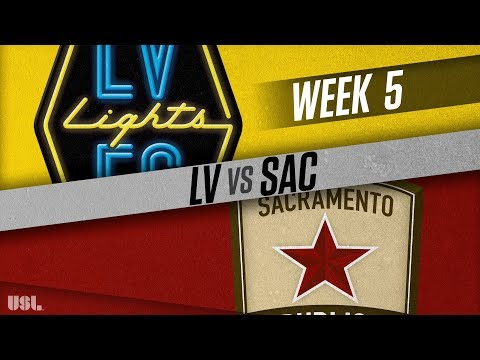 Las Vegas Lights FC vs Sacramento Republic FC: April 14, 2018