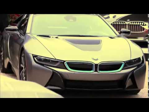 Bmw I8 Frozen Grey And Bmw Vision Future Luxury Concept At 2014