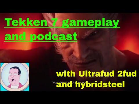 Tekken 7 gameplay and chat