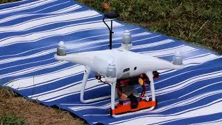 Recherche de nids de frelons asiatiques avec un drone piloté par Lionel Willaert (Droneperf)